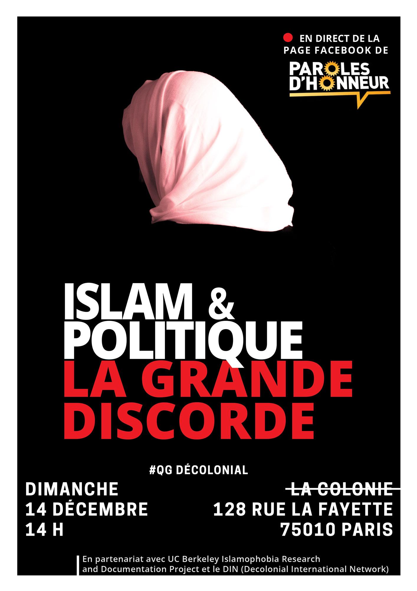 Islamophobie : le blabla inoffensif des Indigènes de la République